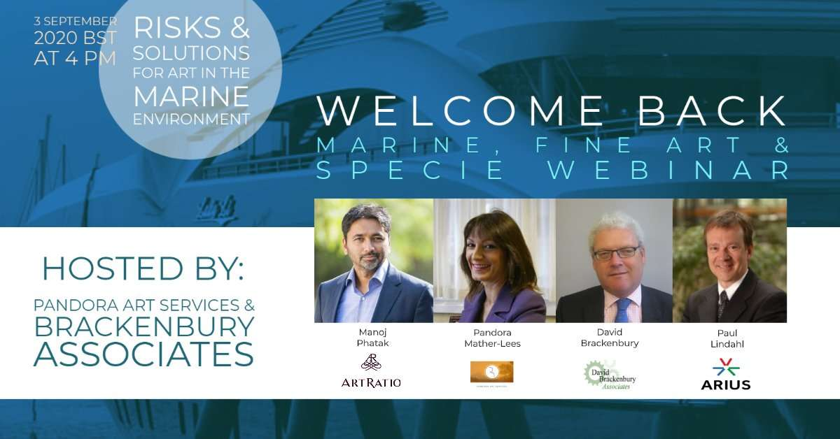Webinar on Fine Art and Specie Insurance for Superyachts