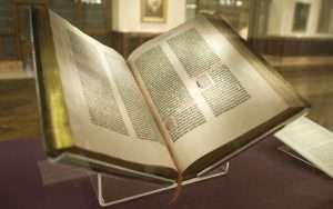 Incunabula Gutenberg Bible