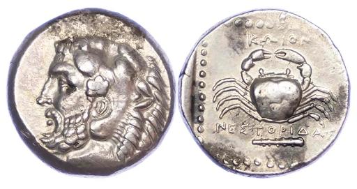 Silver Tetradrachm (c. 350-345 BC)