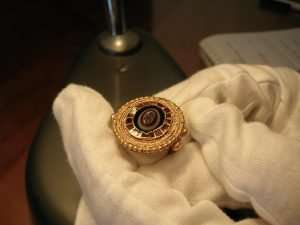 Early Medieval Gold Intaglio Ring