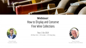Webinar - How to Display and Conserve Fine Wine Collections