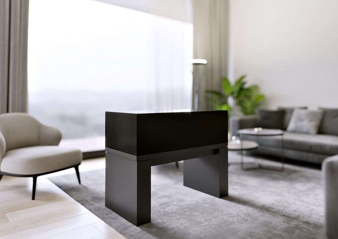 ArtRatio Table Vitrine - Dark