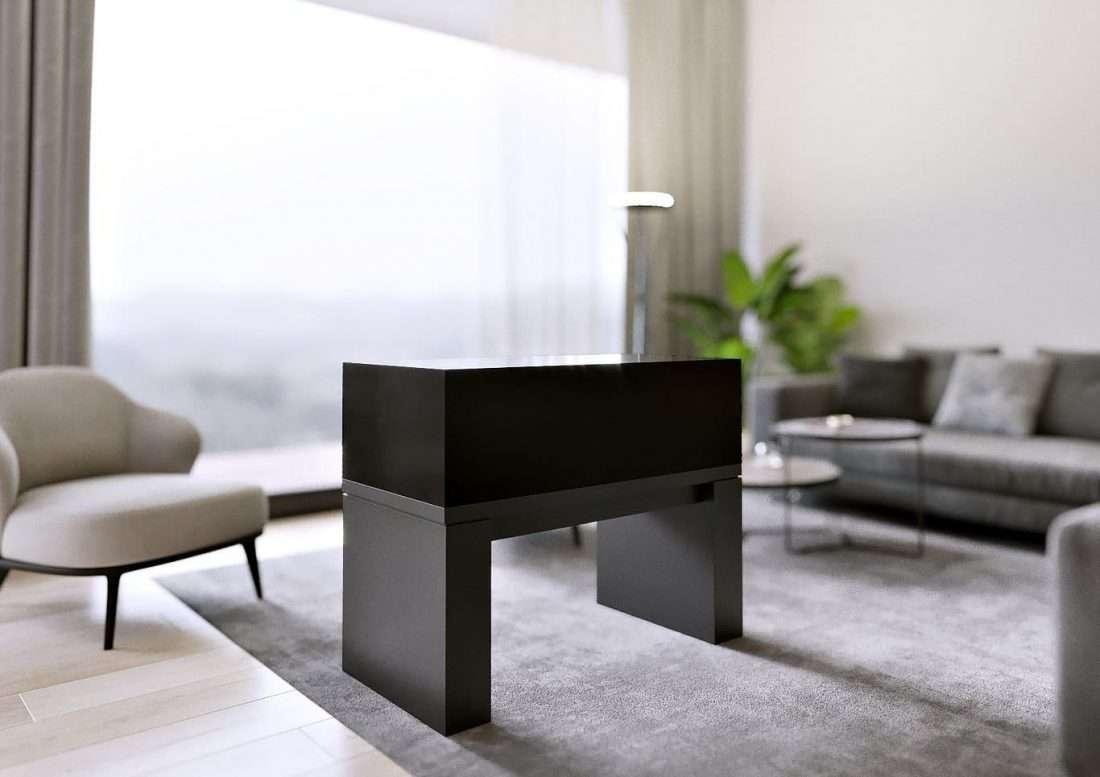 ArtRatio Table Vitrine - Dark